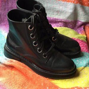 Shoes - Zara combat style Women's Boots